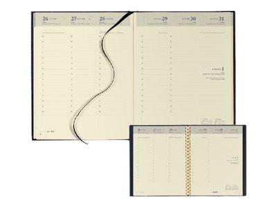 Brepols Lima Timing - Agenda - par semaine - 171 x 220 mm - papier crème - couverture bleue