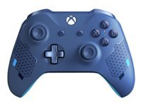 Microsoft Xbox Wireless Controller - Sport Blue Special Edition - gamepad - wireless - Bluetooth - vibrant blue - for PC, Microsoft Xbox One, Microsoft Xbox One S, Microsoft Xbox One X
