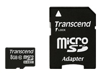 Transcend Cartes Flash TS8GUSDHC10