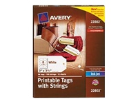 Avery Printable Tags with Strings