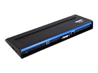 Targus USB 3.0 SuperSpeed Dual Video Docking Station with Power - station d'accueil USB