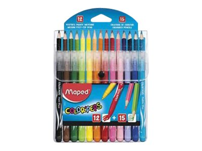Maped Color'Peps - jeu de marqueurs et de crayons de couleur