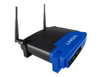 Linksys WRT54GL Trådløs router 4-port switch 802.11b/g 2,4 GHz