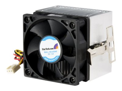 startech.com 60x65mm socket a cpu cooler fan with heatsink for amd dur