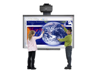 SMART Board Interactive Whiteboard System 885ix2-SMP - tableau blanc intéractif - USB