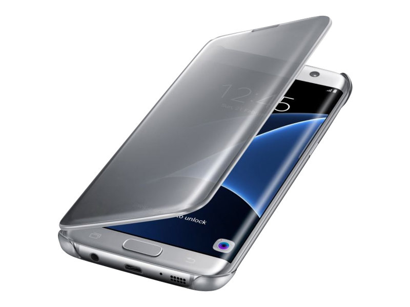 Samsung Clear View Cover EF-ZG935 - Protection à rabat pour Galaxy S7 edge - différents coloris