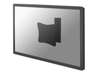 NewStar TV/Monitor Wall Mount (2 pivots & tiltable) FPMA-W810BLACK - montage mural
