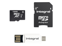 Integral Smartphone and Tablet - carte mémoire flash - 128 Go - microSDXC UHS-I