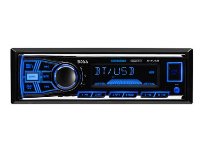 BOSS 611UAB - Car - digital receiver - in-dash - Full-DIN - 50 Watts x 4