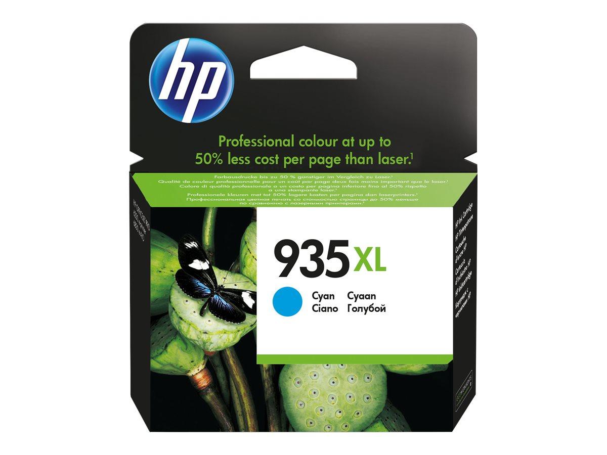 HP 935XL - à rendement élevé - cyan - originale - cartouche d'encre