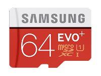 SAMSUNG, Micro SD Card EVO+64GB