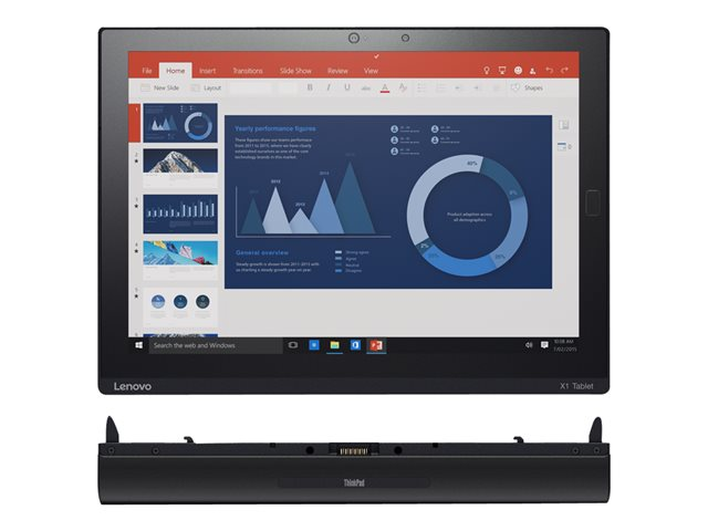 "Image of Lenovo ThinkPad X1 Tablet 20GG - 12"" - Core m7 6Y75 - 8 GB RAM - 256 GB SSD"