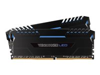 CSR VENGEANCE MEM 16GB DDR4 1.35V 3200 MHZ LED AZUL (2X8GB)