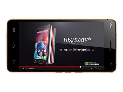 Wiko Highway 4G - bleu électrique - 4G HSPA+ - 16 Go - GSM - smartphone Android