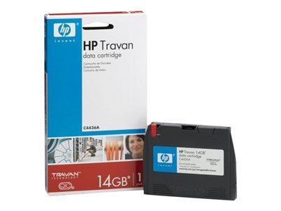 HPE - Travan x 1 - 7 GB - soportes de almacenamiento