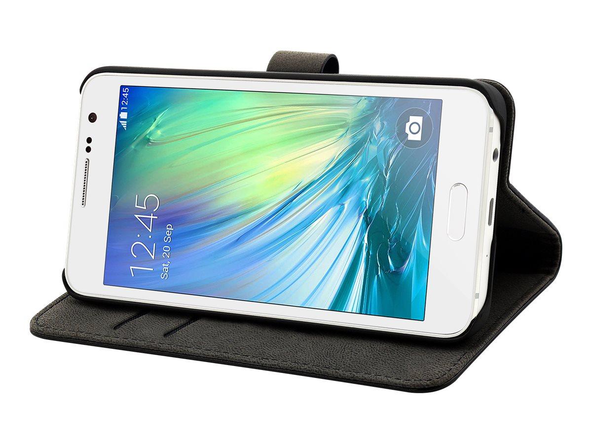Muvit Slim Folio - Protection à rabat pour Samsung GALAXY A3 - noir