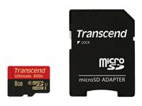 Transcend Cartes Flash TS8GUSDHC10U1