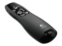 Logitech Wireless Presenter R400 Fjernbetjening til præsentation RF