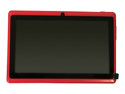 "Zeepad 7DRK-Q - Tablet - Android 4.4 (KitKat) - 4 GB - 7"" TFT (800 x 480) - USB host - microSD slot - red"