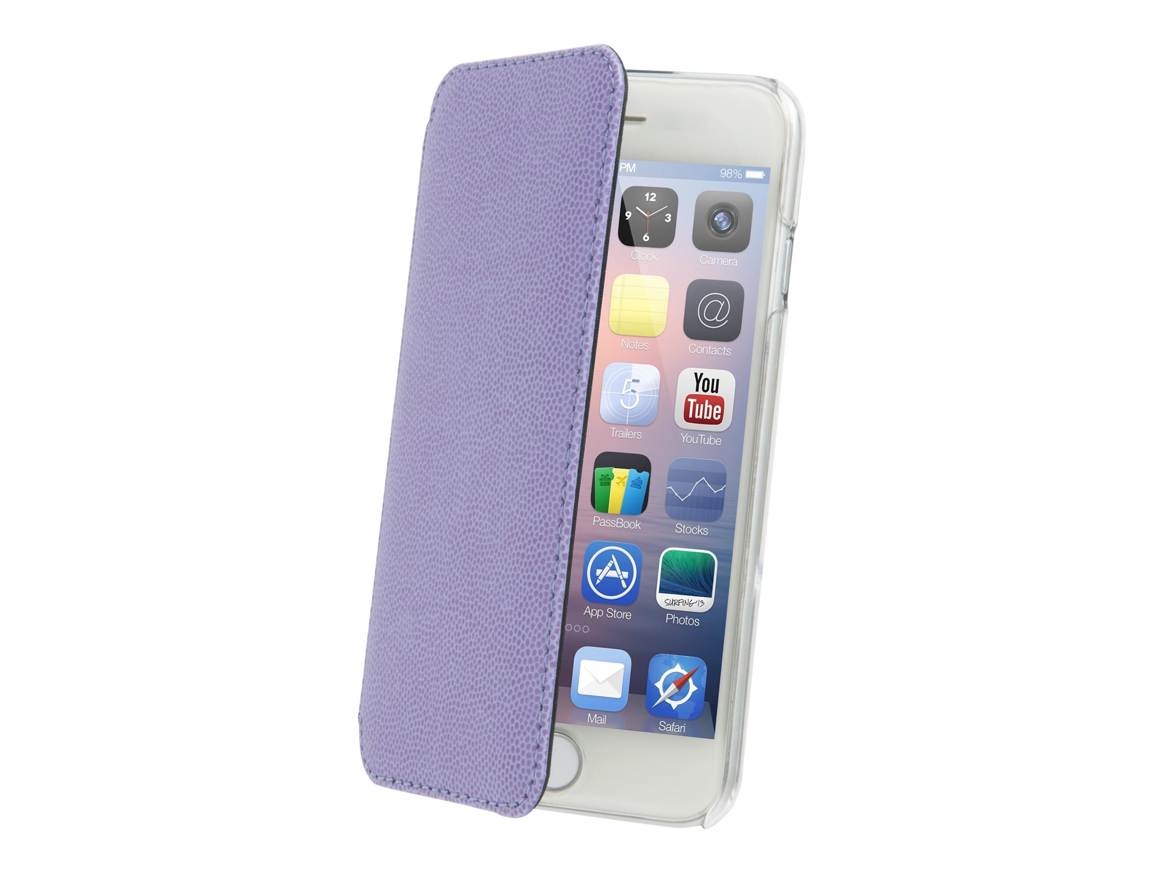 Muvit Made in Paris Crystal Folio - Protection à rabat pour iPhone 6 Plus - violet