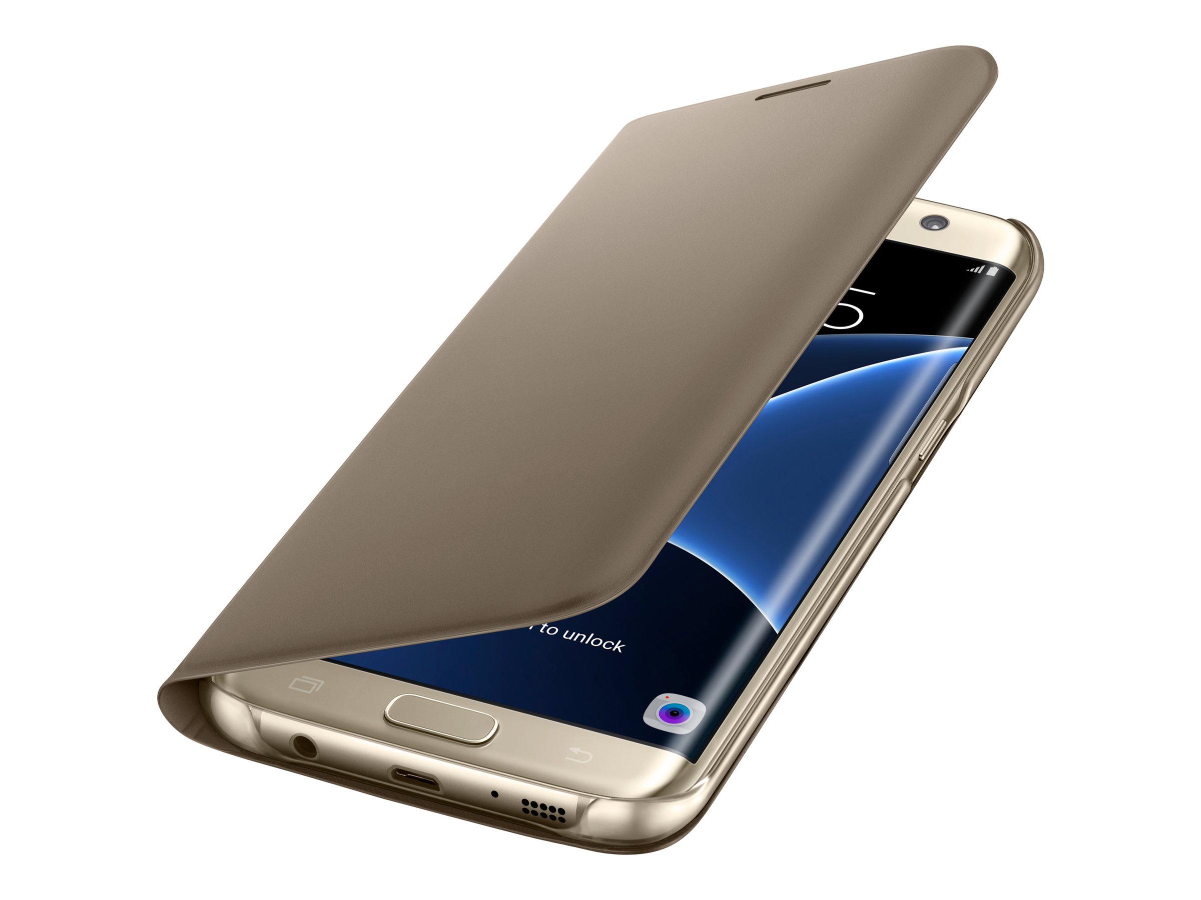 Samsung Flip Wallet EF-WG935 - Protection à rabat pour Galaxy S7 edge - différents coloris