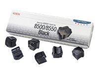 XEROX Tinta sólida Negra (Pack 6) (6.000 páginas)108R00672