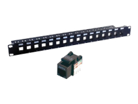 MCL Samar Coffret, baies et accessoires PB-UNI5E/16N