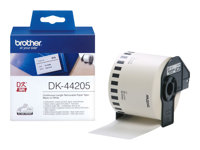 Image of Brother DK44205 - removable adhesive labels - 1 roll(s)