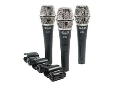 CAD D32 - Microphone (pack of 3)