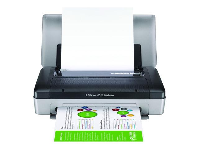 Image of HP Officejet 100 Mobile Printer - printer - colour - ink-jet
