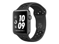Apple Watch Nike+ Series 3 (GPS) 42 mm rumgråt aluminium