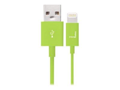 Urban Factory Lightning Collection - câble de données / charge pour iPad / iPhone / iPod - Lightning / USB - 1 m