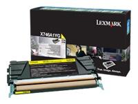 Lexmark Cartouches toner laser X746A1YG