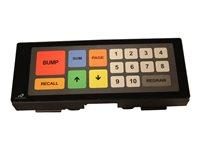 Bematech KB9000 Kitchen Display Bump Bar - Keypad - USB