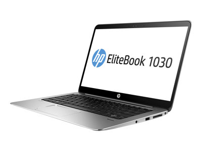 "HP EliteBook 1030 G1 - Core m5 6Y54 / 1.1 GHz - Win 10 Pro 64-bit - 8 GB RAM - 128 GB SSD - 13.3"" IPS 1920 x 1080 (Full HD) - HD Graphics 515 - Wi-Fi, NFC, Bluetooth - with HP Dock Connector to Ethernet/VGA Adapter"