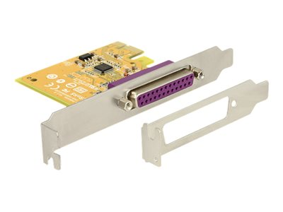 DeLock PCI Express Card 1 x Parallel - Paralelní adaptér - PCIe 2.0 - IEEE 1284