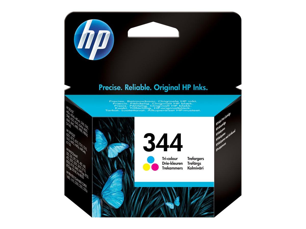 HP 344 - couleurs (cyan, magenta, jaune) - originale - cartouche d'encre