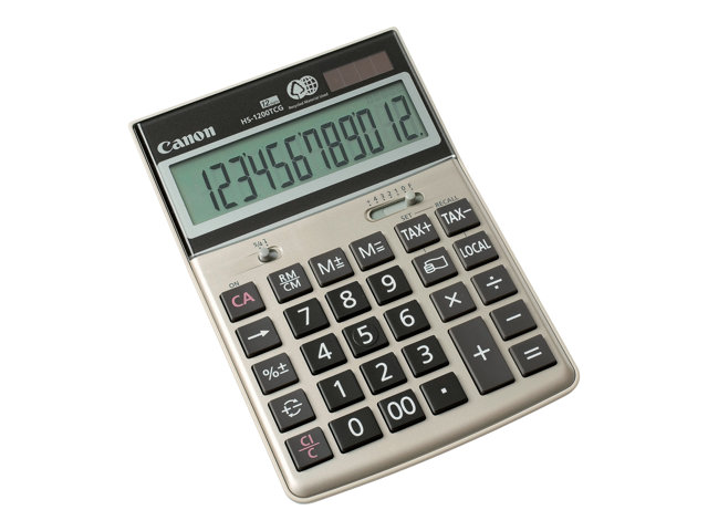 canon hs 1200tcg calculatrice de bureau achat vente calculatrice sur. Black Bedroom Furniture Sets. Home Design Ideas