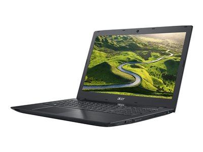 """Acer Aspire E 15 E5-575G-53VG - Core i5 6200U / 2.3 GHz - Win 10 Home 64-bit - 8 GB RAM - 256 GB SSD - DVD SuperMulti - 15.6"""" TN 1920 x 1080 (Full HD) - GF 940M - Wi-Fi - obsidian black - kbd: US International"""
