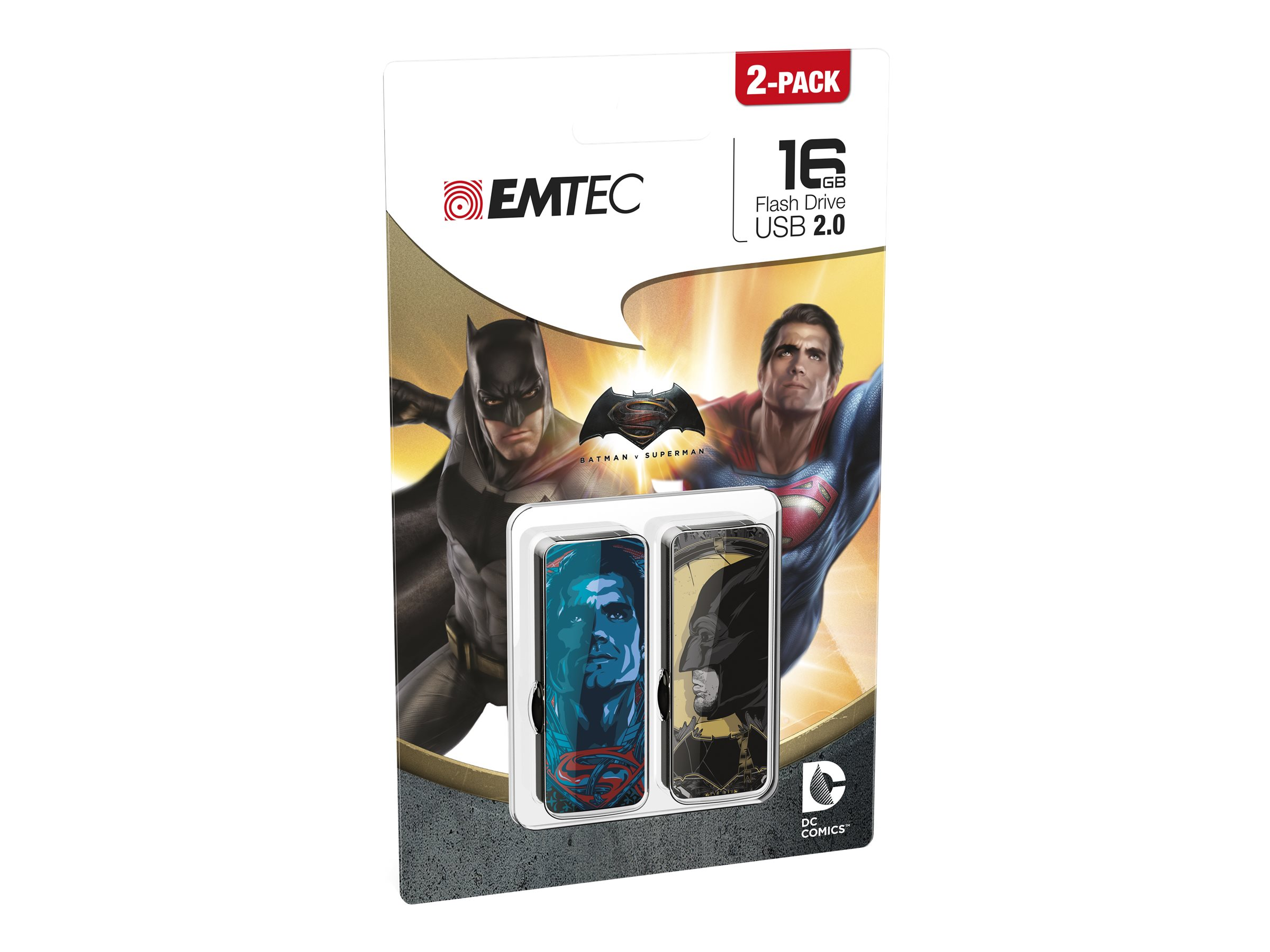 EMTEC M700 Batman v Superman - clé USB - 16 Go