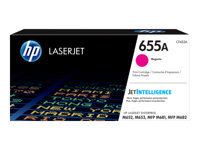 HP 655A - Magenta - original - LaserJet - toner cartridge (CF453A) - for Color LaserJet Enterprise M652, M653; LaserJet Enterprise Flow MFP M681, MFP M682