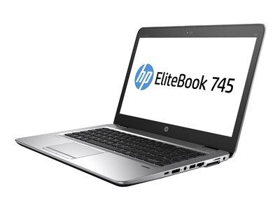 """HP EliteBook 745 G4 - A10 PRO-8730B / 1.8 GHz - Win 7 Pro 64-bit (includes Win 10 Pro 64-bit License) - 4 GB RAM - 500 GB HDD - 14"""" TN 1366 x 768 (HD) - Radeon R5 - Wi-Fi, NFC, Bluetooth - kbd: US"""