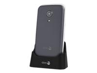 Doro 2414 Mobiltelefon GSM 320 x 240 pixels 3 MP sølv, stål