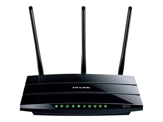 Image of TP-LINK TD-W8980 - wireless router - DSL modem - desktop