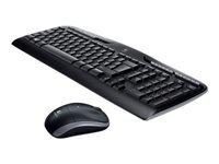 Logitech Wireless Combo MK330 - ensemble clavier et souris - français