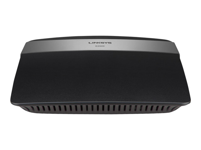 Image of Linksys E2500 - wireless router - 802.11a/b/g/n - desktop