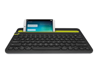 Logitech Multi-Device K480 Tastatur Bluetooth Dansk/Finsk/Norsk/Svensk