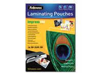 Fellowes Laminating Pouches 100 my 100-pakke