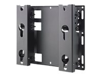 Bosch UMM-WMT-32 - Wall mount for LCD display - steel - black - screen size: 32""