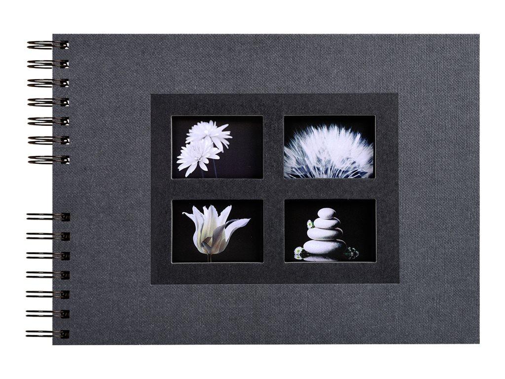 Exacompta Passion - Album à spirale 32 x22 cm - différents coloris